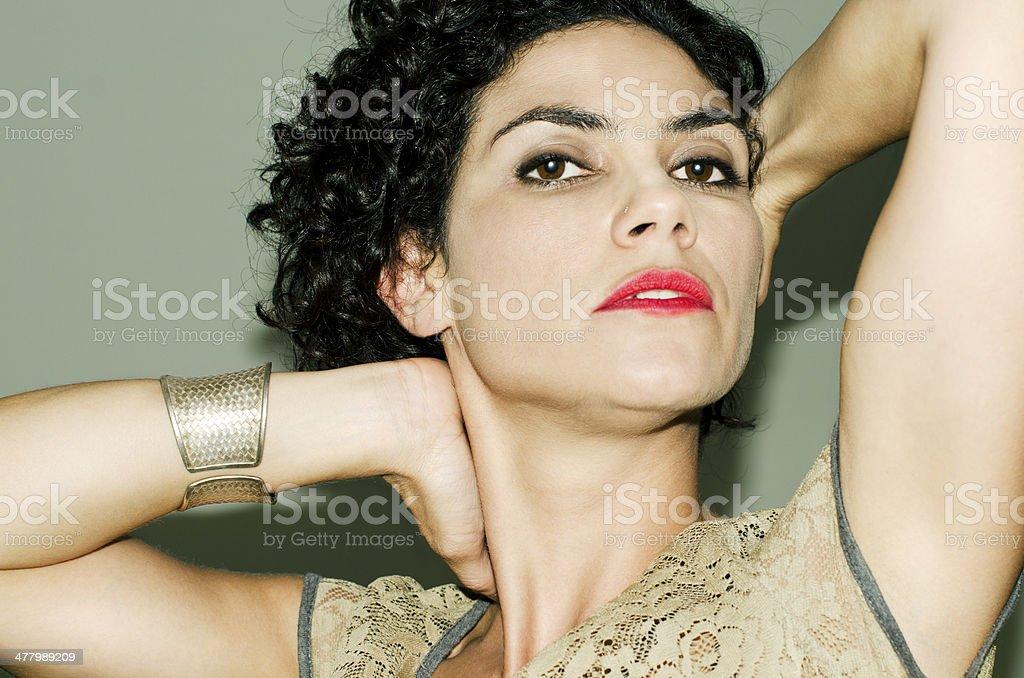 Model. royalty-free stock photo