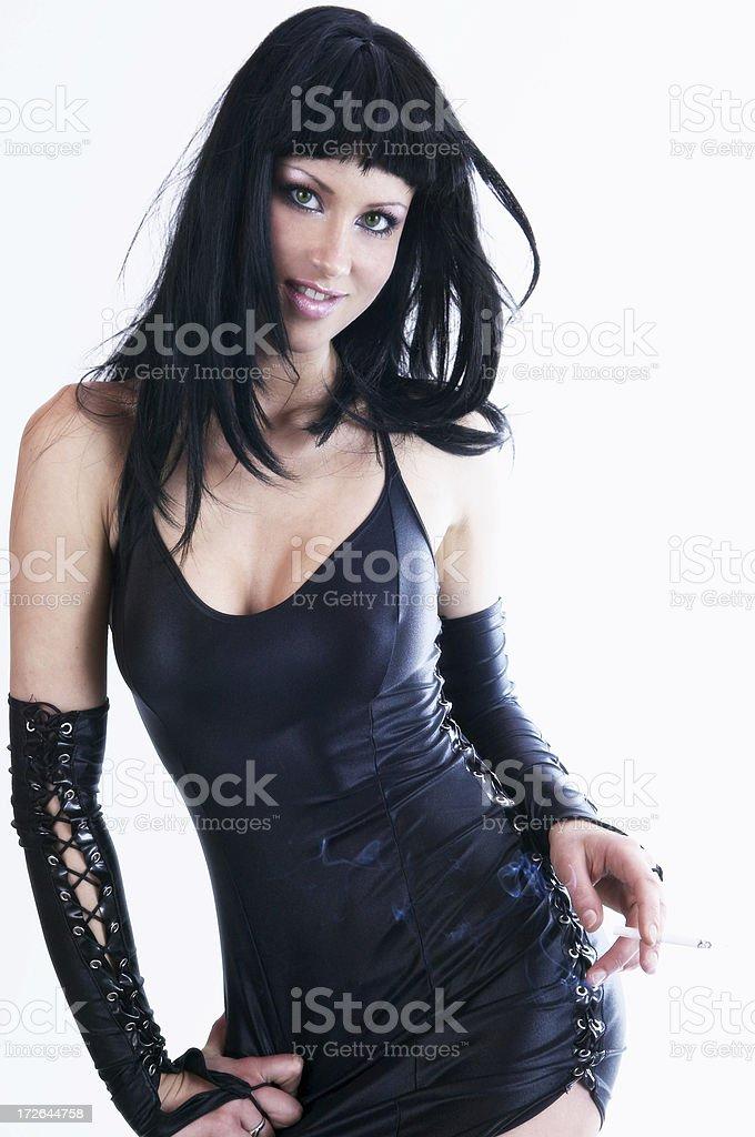 Model portrait royalty-free stock photo