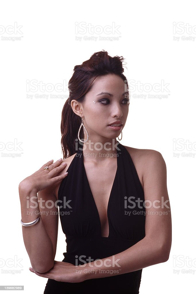 Model Pose royalty-free stock photo