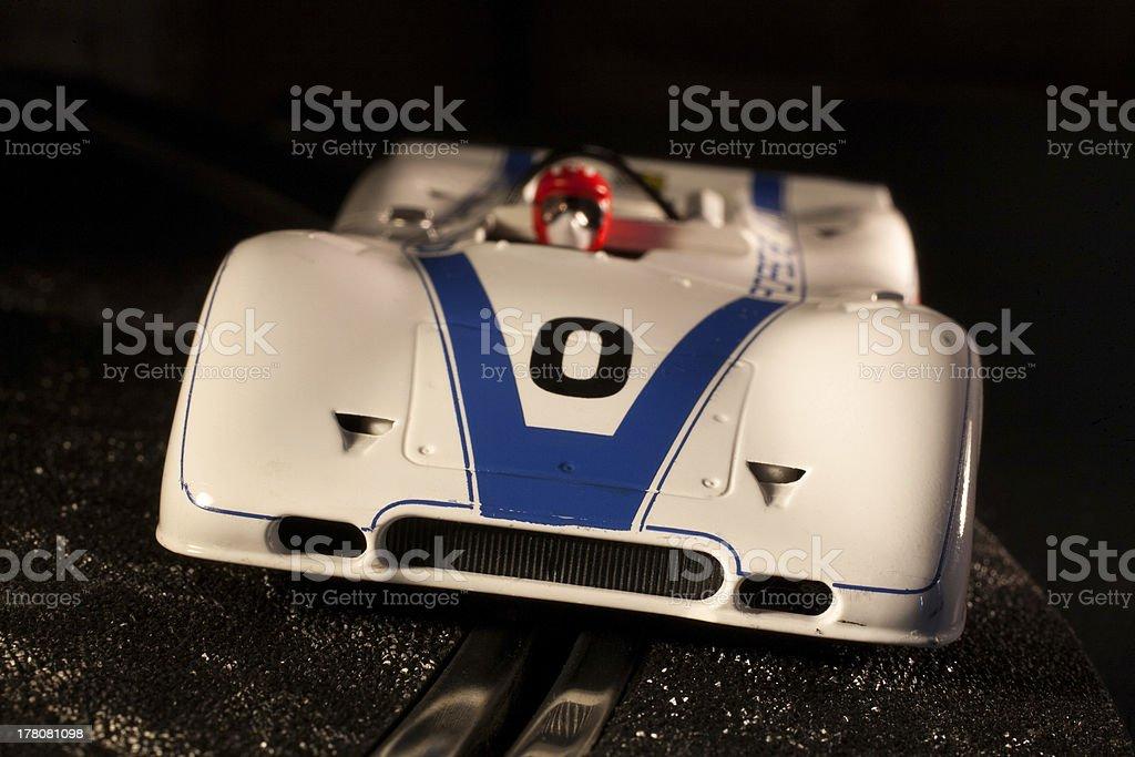 Model racer stock photo
