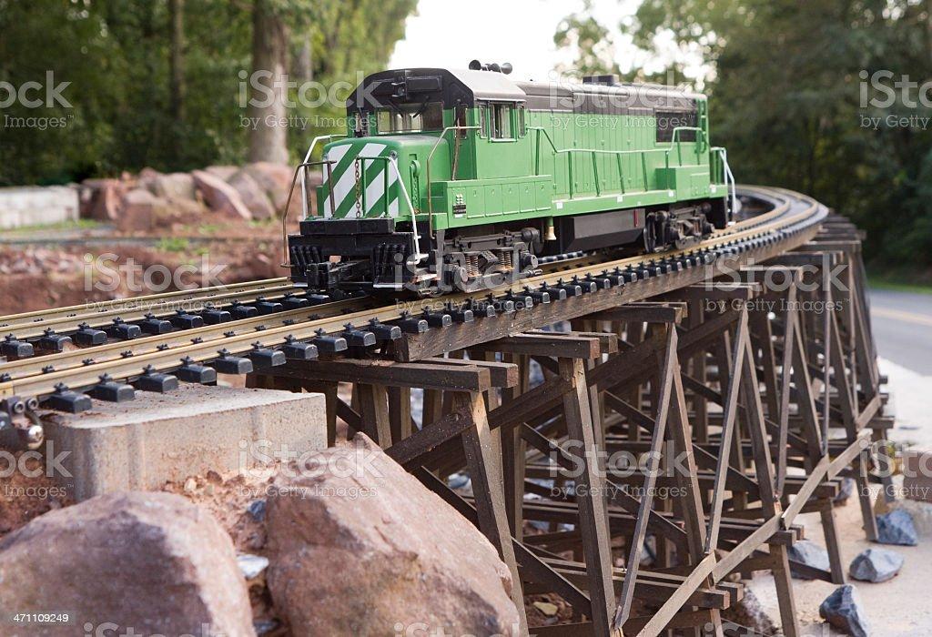 Model Railroad stock photo