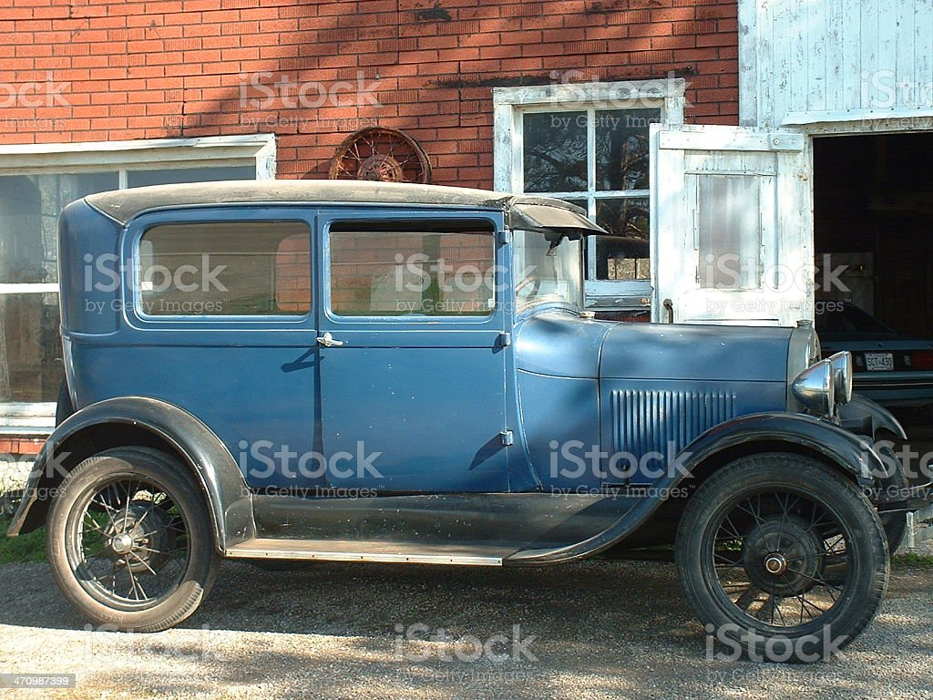 1928 Model T royalty-free stock photo