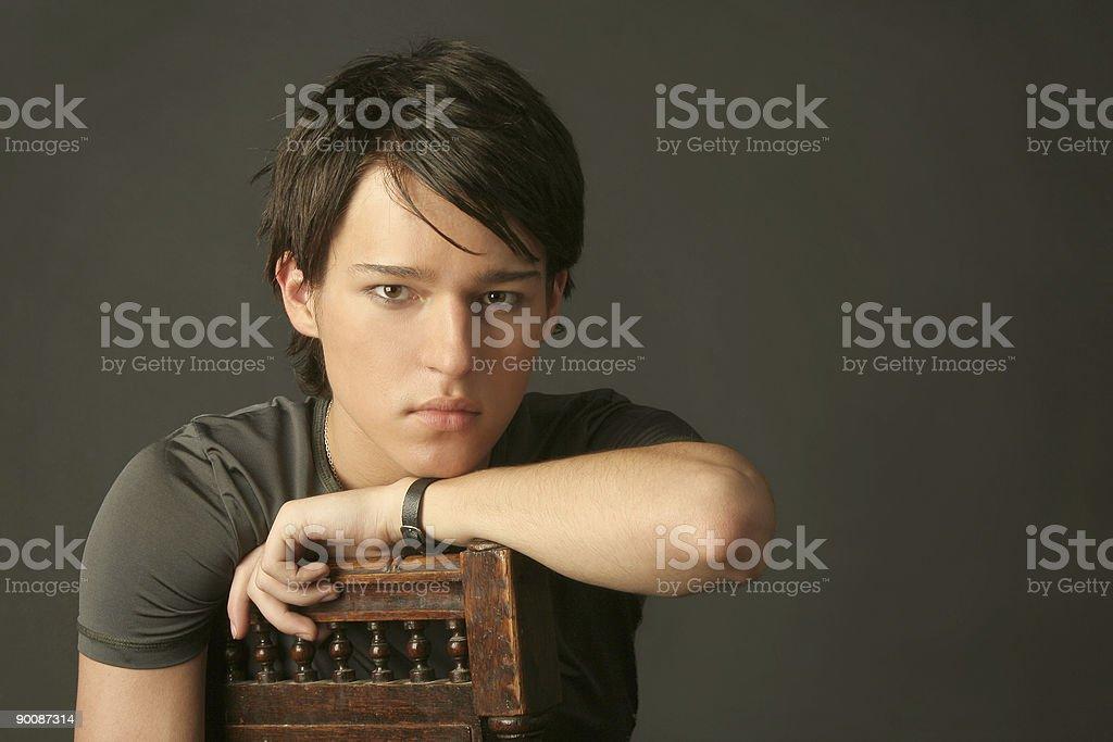 Model the man royalty-free stock photo