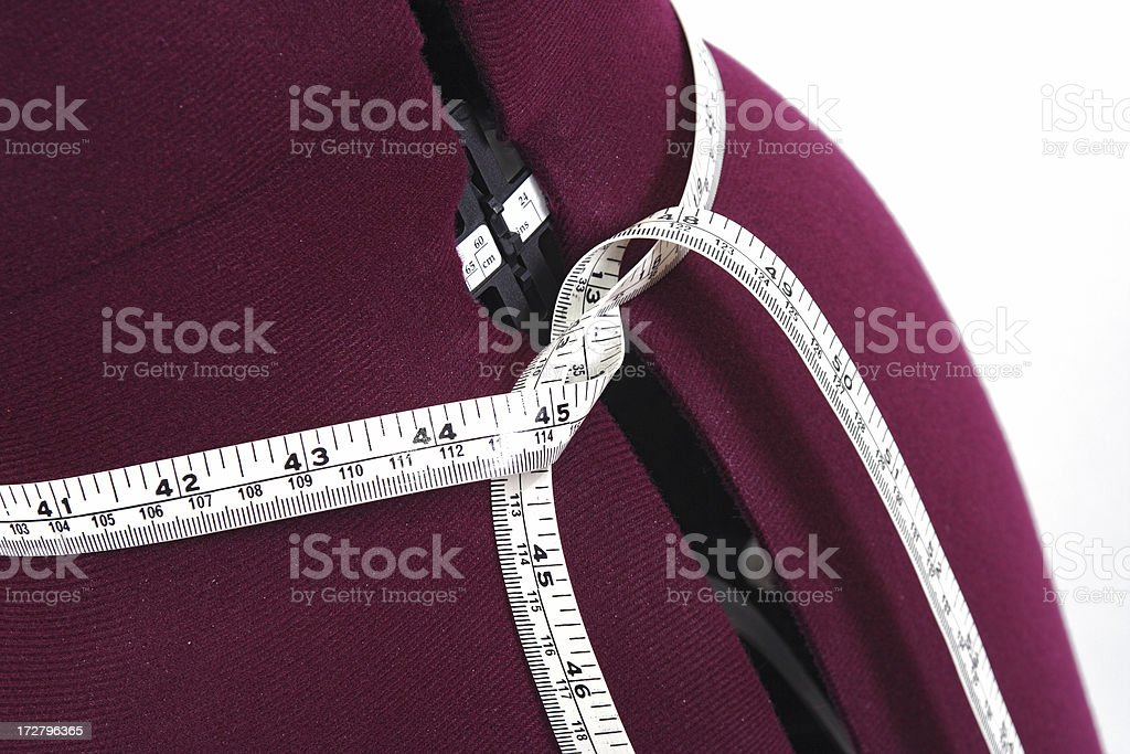model waist ruler royalty-free stock photo