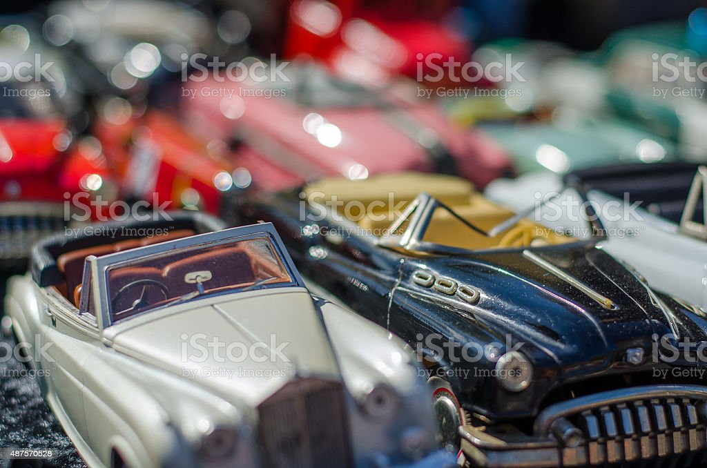 Modellauto stock photo