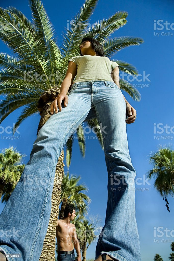 Models Perspective. royalty-free stock photo