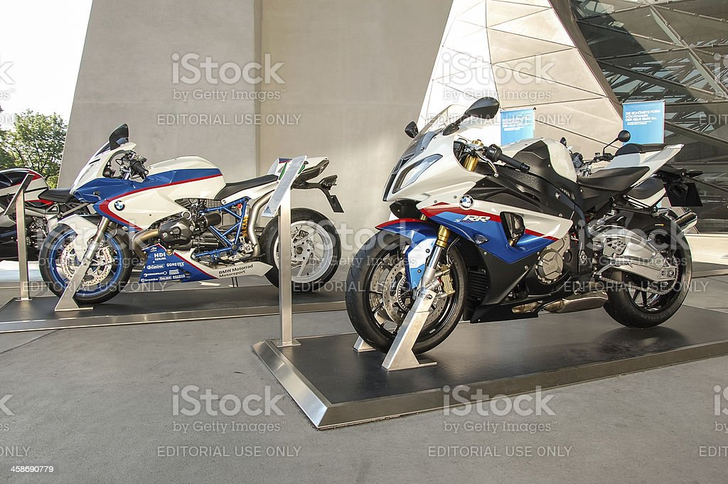 BMW S1000RR, HP2 SPORT models royalty-free stock photo