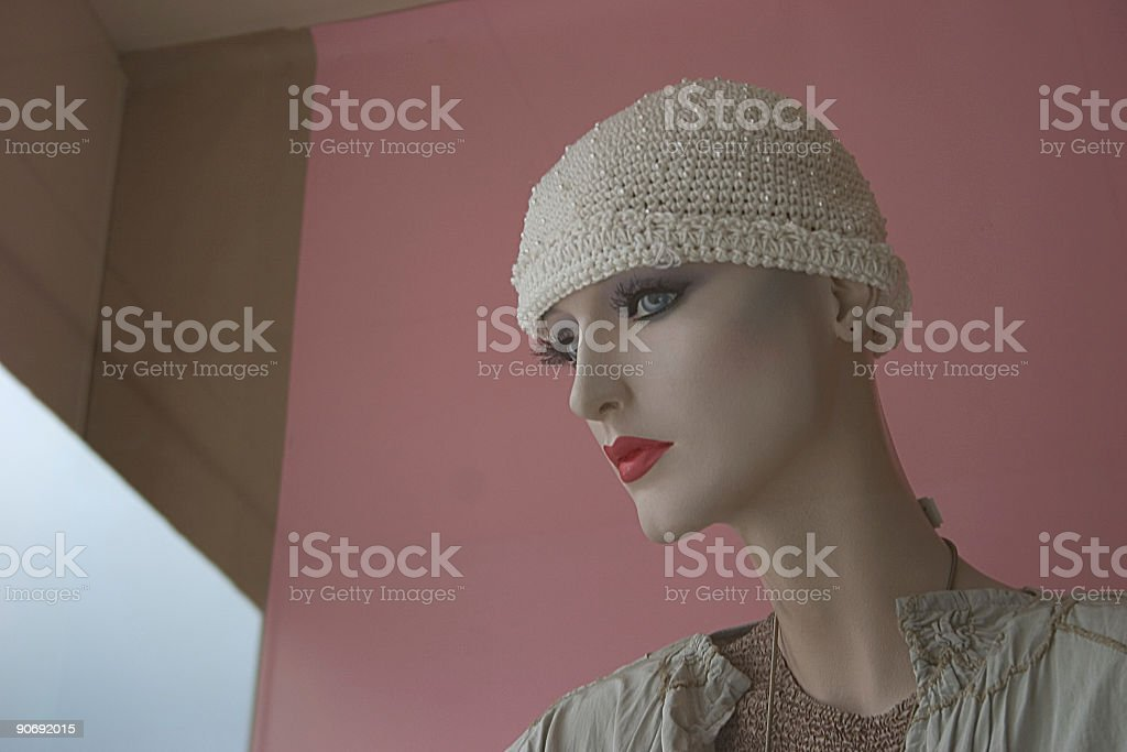 Mannequins, shopping royalty-free stock photo