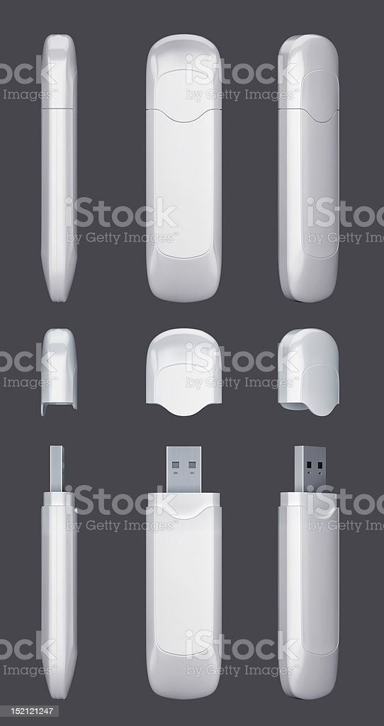 USB Modem stock photo