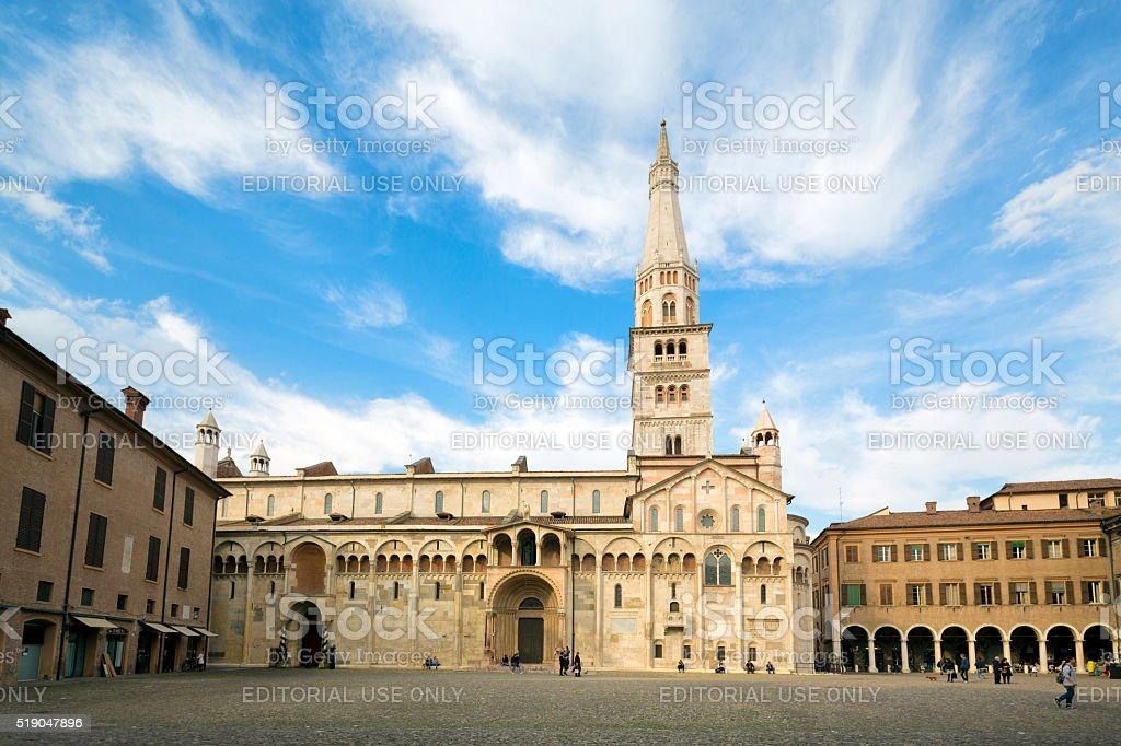 Modena Cathedral, Emilia-Romagna Italy stock photo