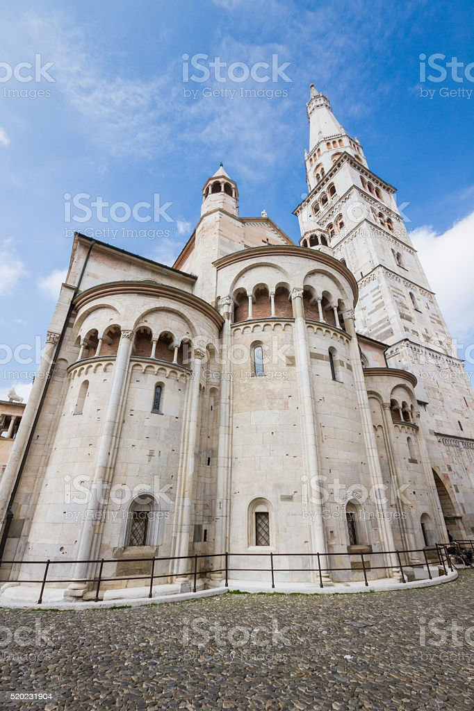Modena Cathedral stock photo