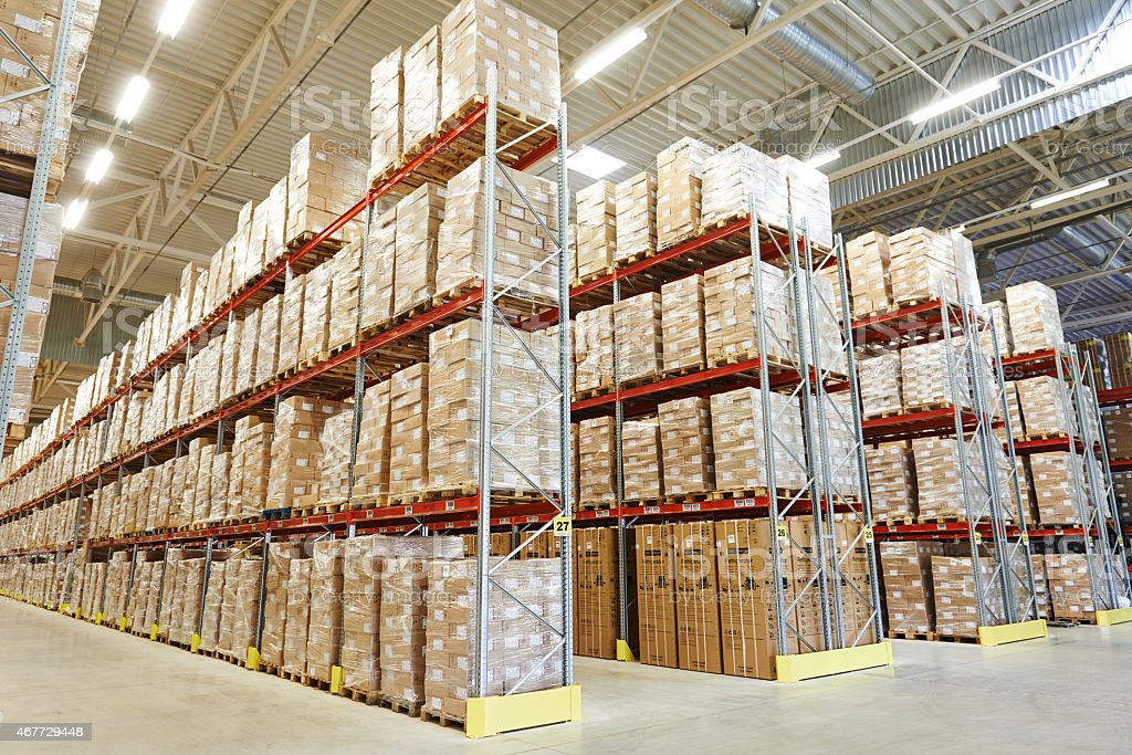 moderm warehouse stock photo