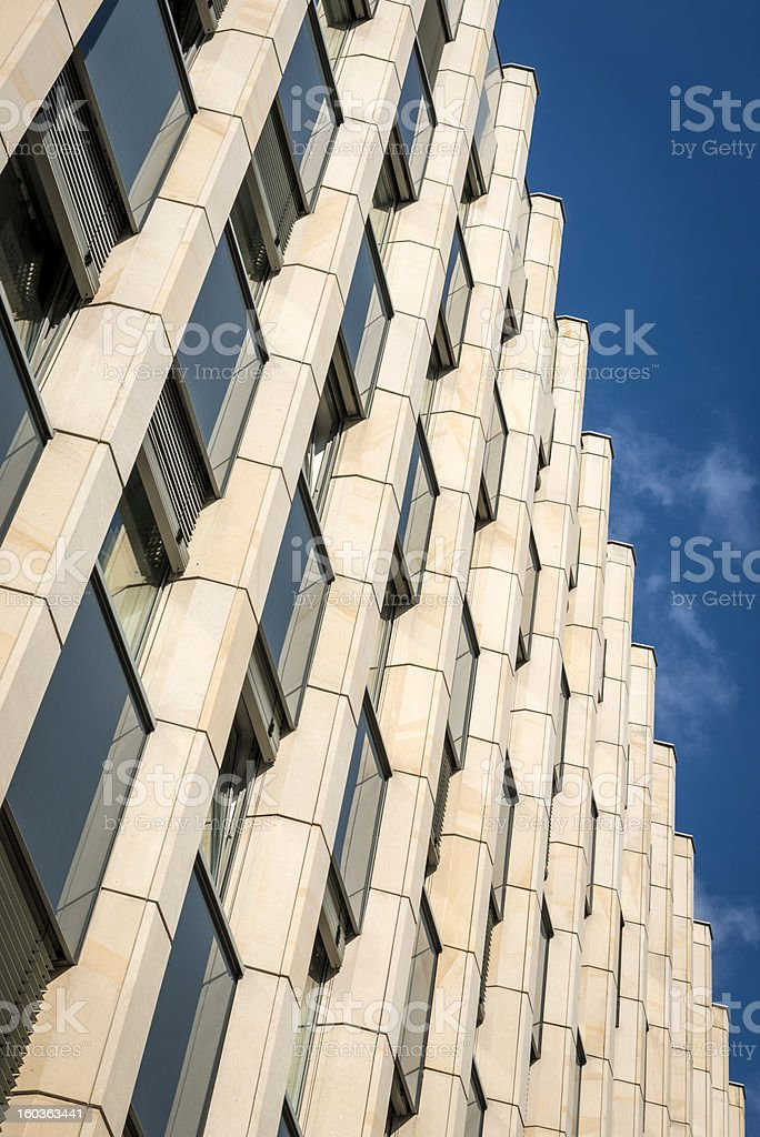 Modern abstract architecture royalty-free stock photo