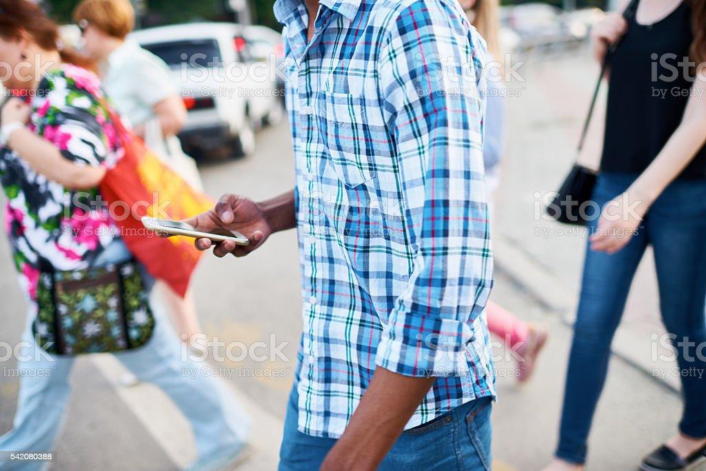Modern addiction stock photo