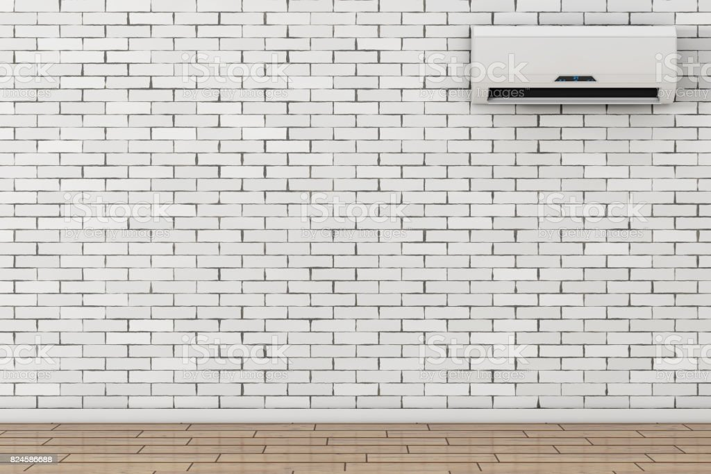 Modern Air Conditioner. 3d Rendering stock photo