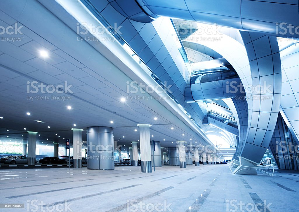 Modern Airport Architecture royalty-free stock photo