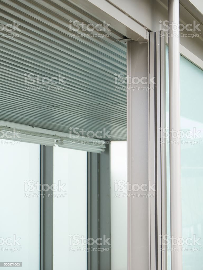 modern airport building royalty-free stock photo
