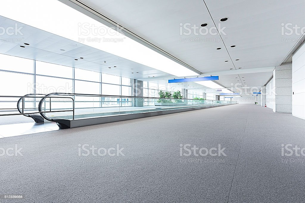 Modern Airport Concepts stock photo