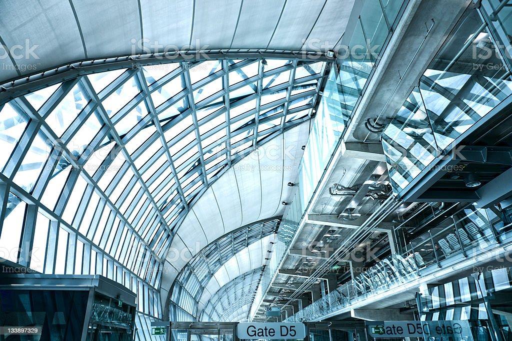 Moderne Flughafen Lounge – Foto