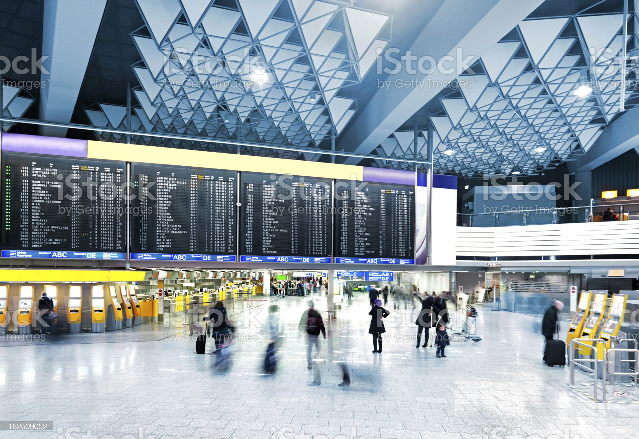 Modern Airport royalty-free stock photo