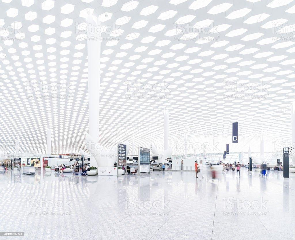 Modern Airport stock photo