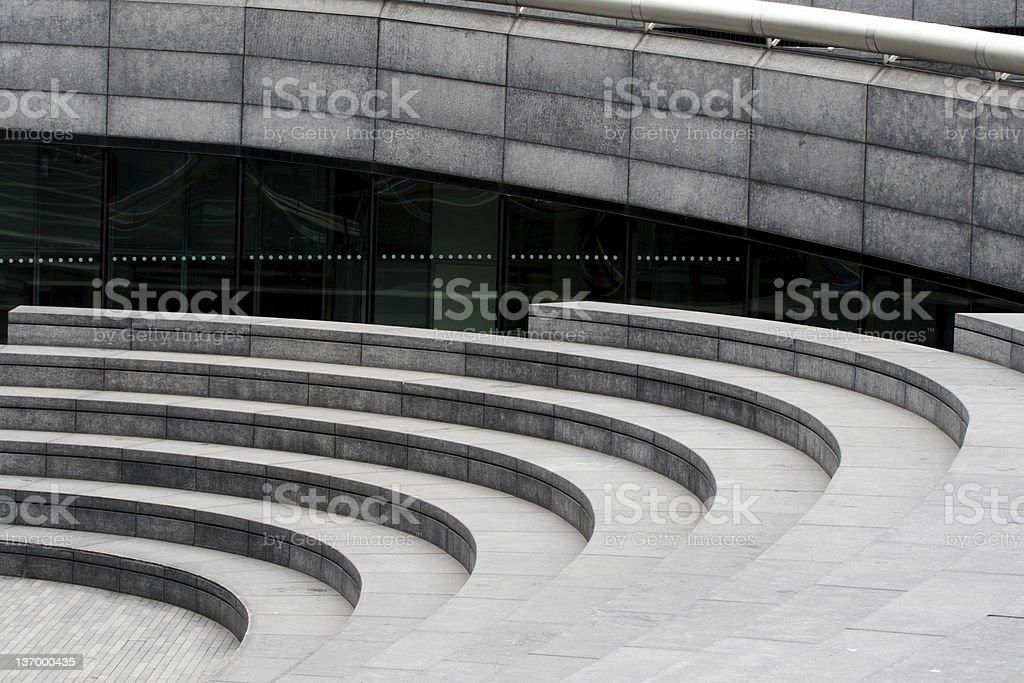 Modern Ampitheatre stock photo