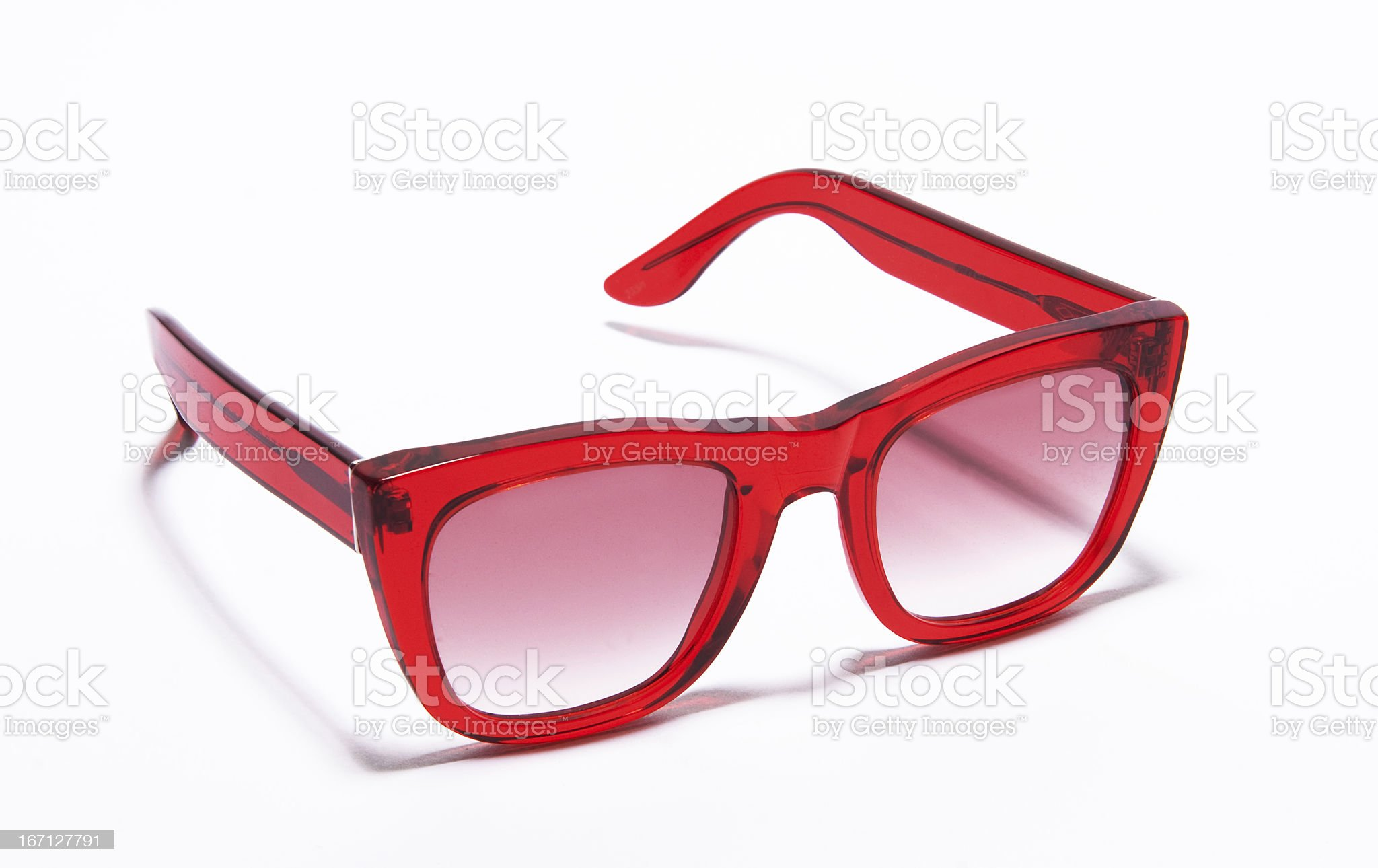 modern and colorful sunglasses isolated on white background royalty-free stock photo