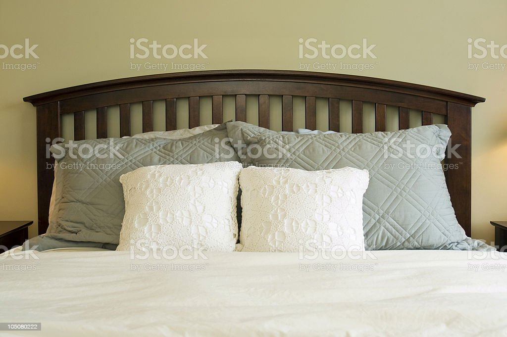 Modern and Comfortable Bedroom royalty-free stock photo