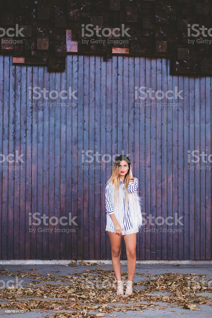 Modern and styled these autumn stock photo