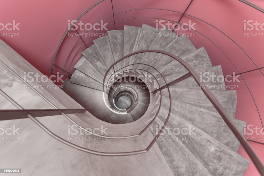 Modern and Stylish Staircase stock photo