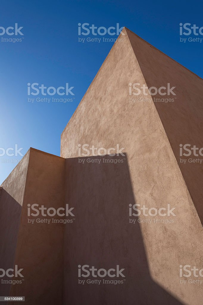 Modern, angular architecture. stock photo