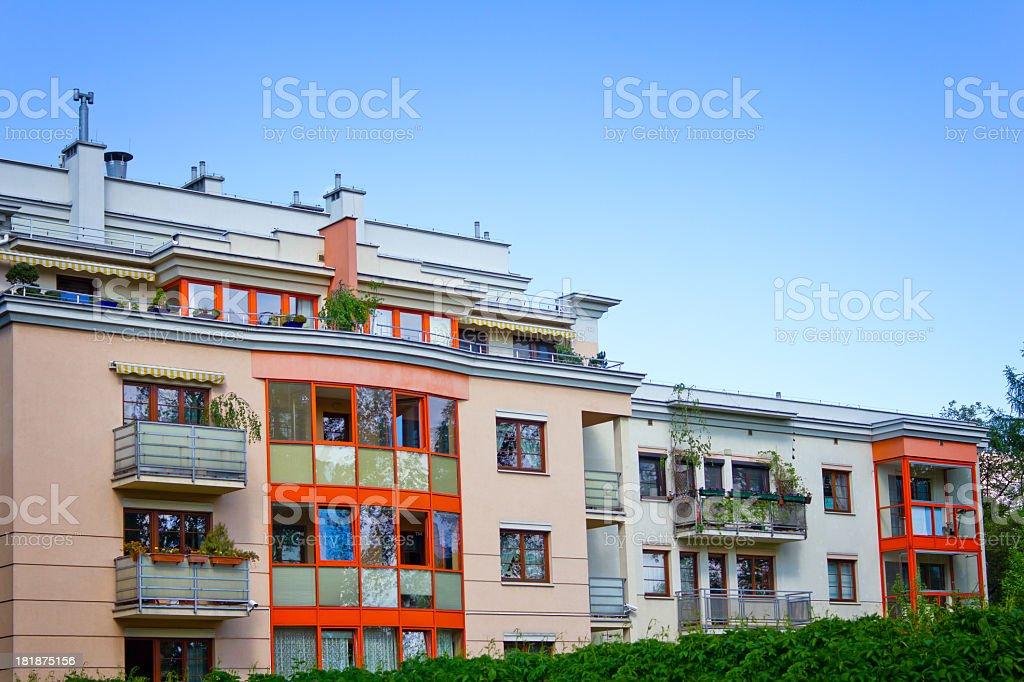 Modern Apartment House royalty-free stock photo
