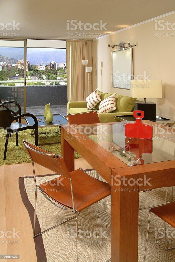 modern apartment interior royalty-free stock photo