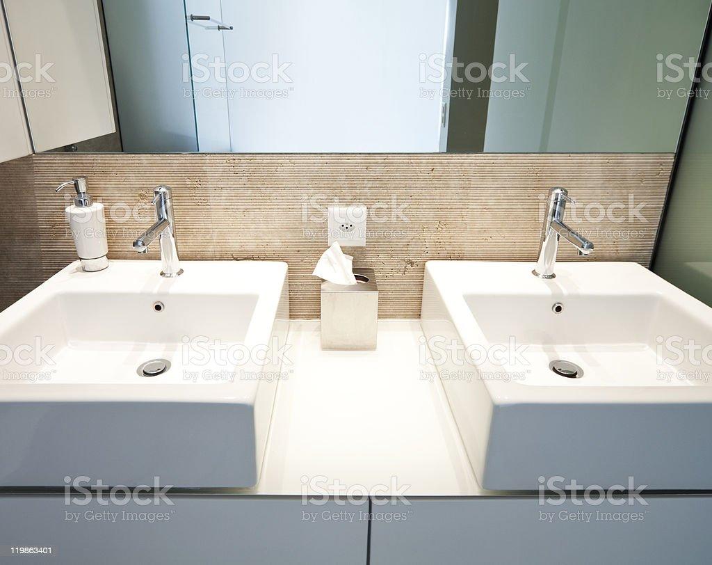 modern apartment interior view royalty-free stock photo