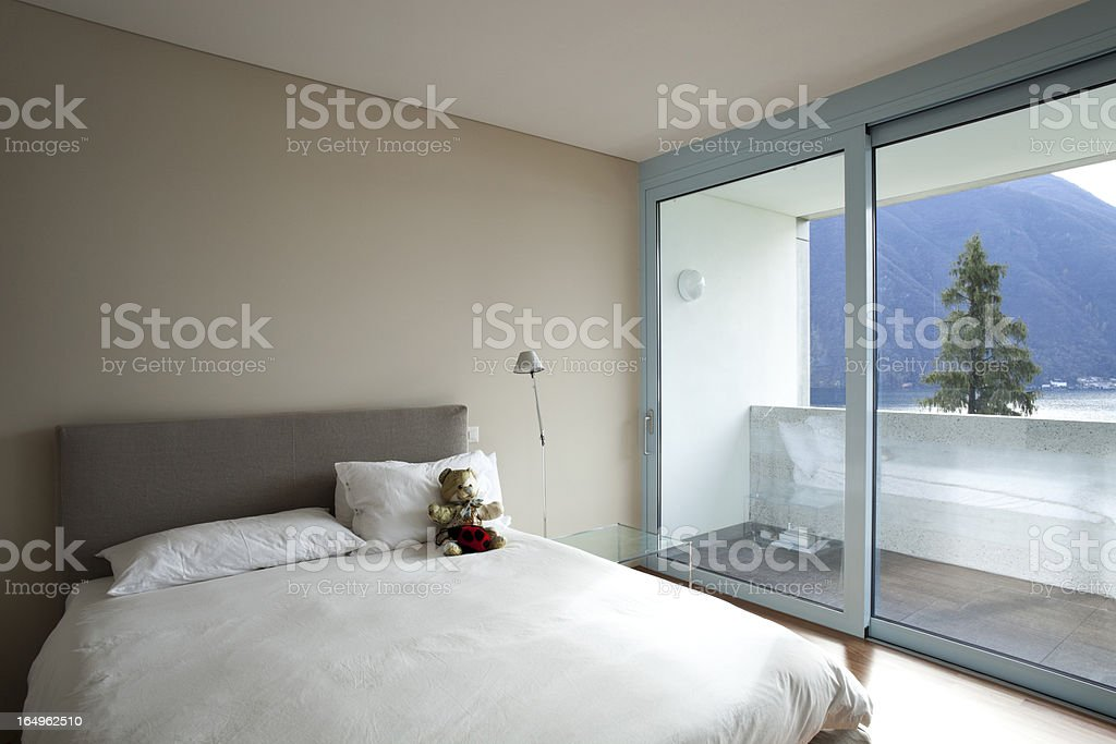 modern apartment interior view royalty-free stock photo