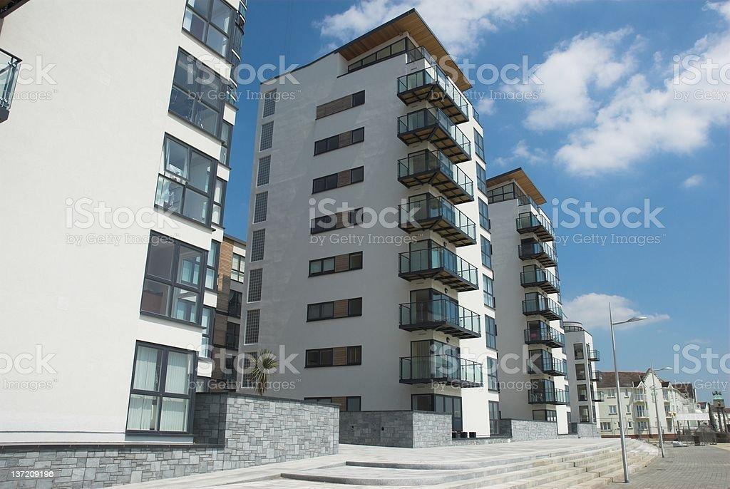 Modern Apartments 2 stock photo