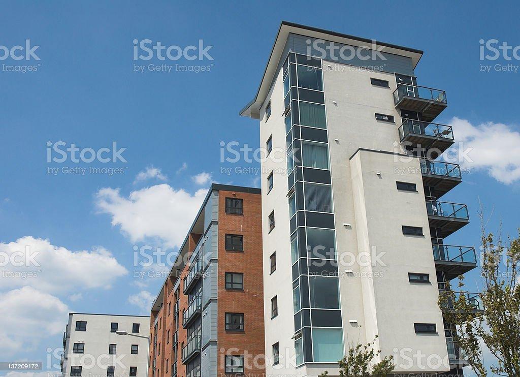 Modern Apartments 3 royalty-free stock photo