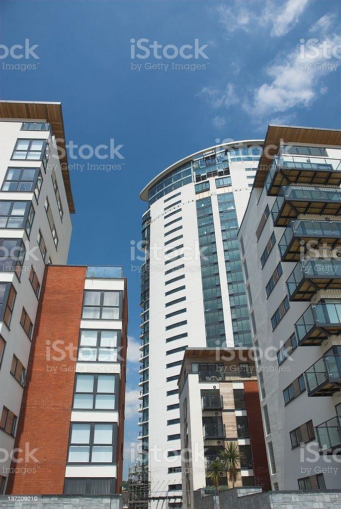 Modern Apartments 5 royalty-free stock photo