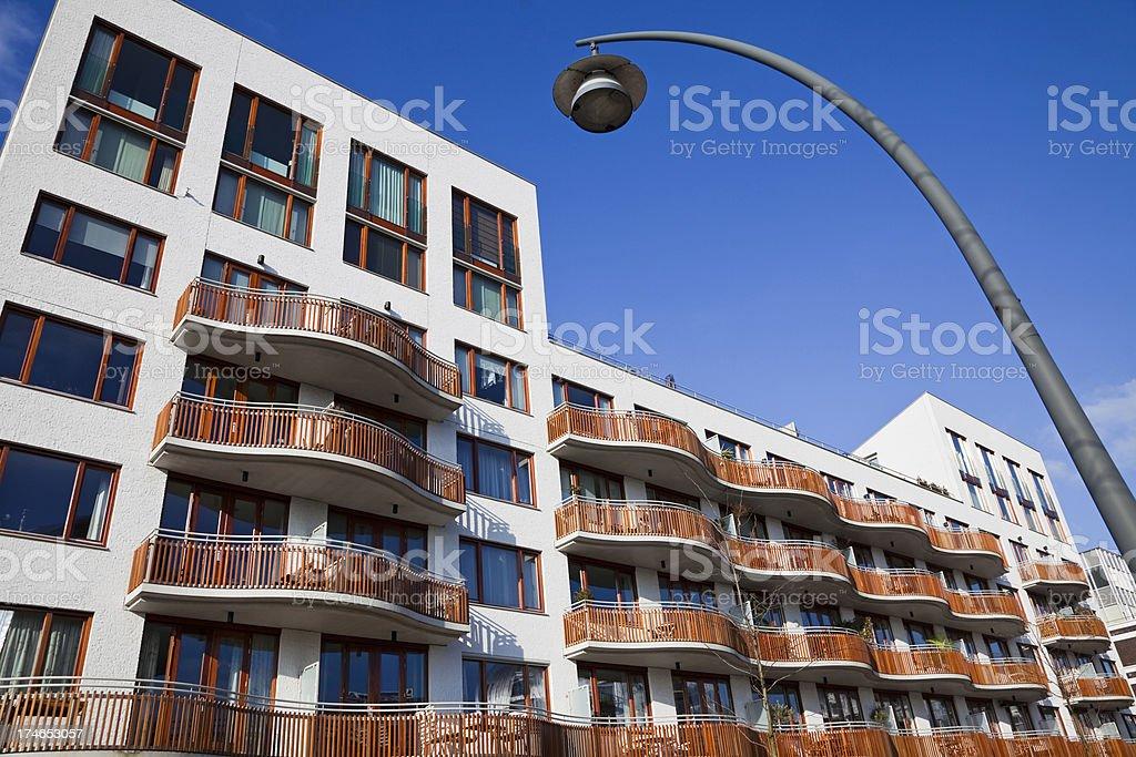 Modern apartments # 4 XXXL royalty-free stock photo