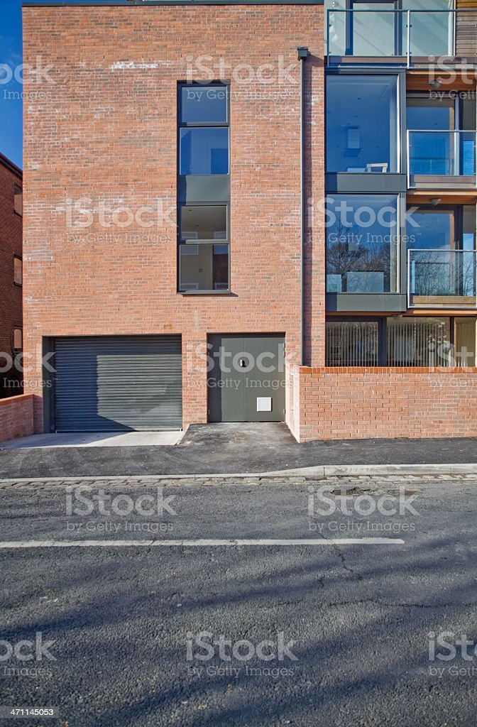 Modern Apartments-See the following lightboxes for more. royalty-free stock photo