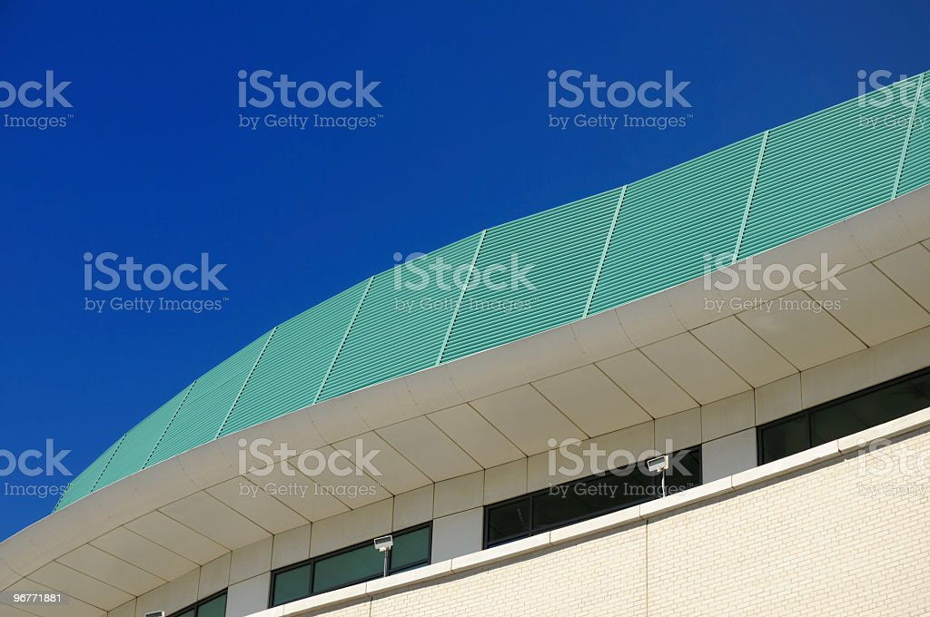 Modern Architectural Detail royalty-free stock photo