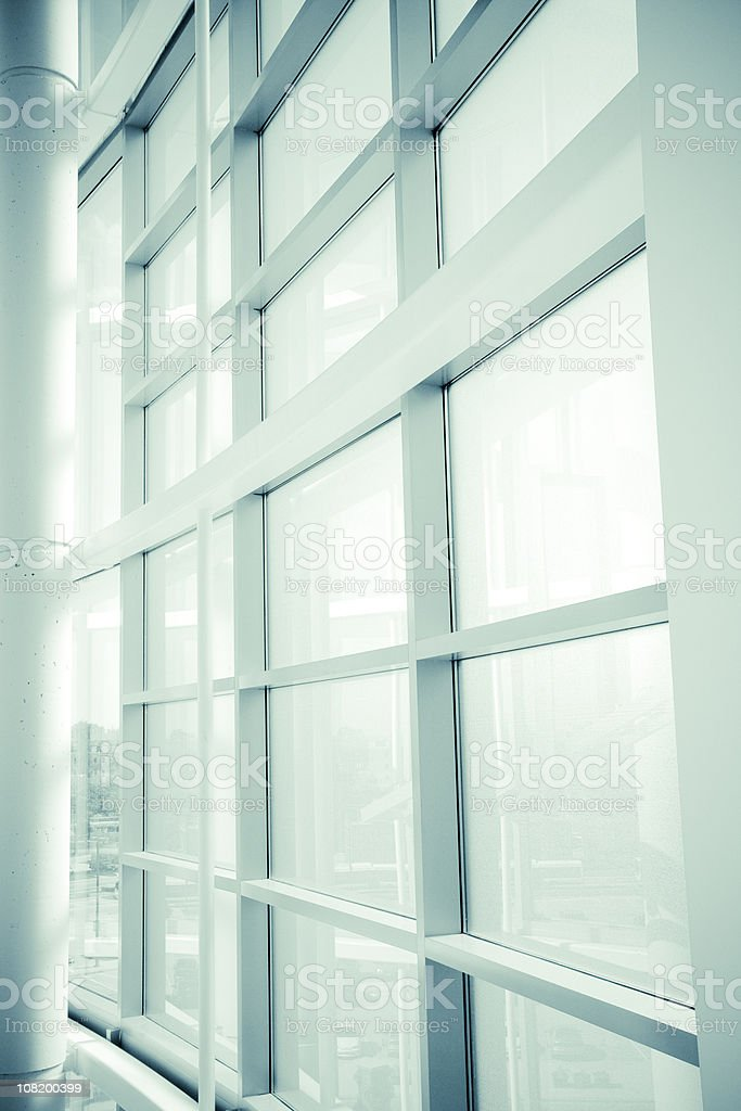 Modern Architectural Window Design royalty-free stock photo