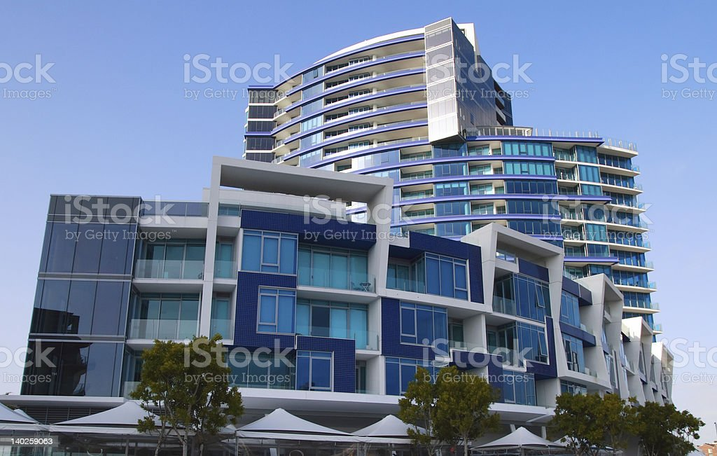Modern architecture 3 royalty-free stock photo