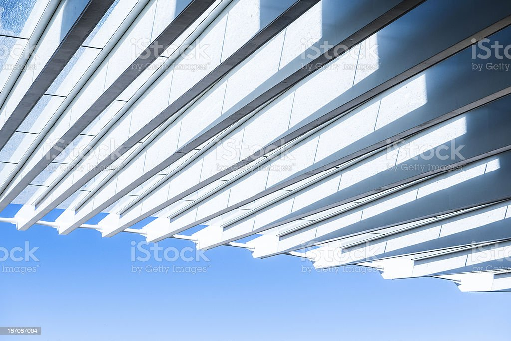 Modern Architecture Abstract royalty-free stock photo