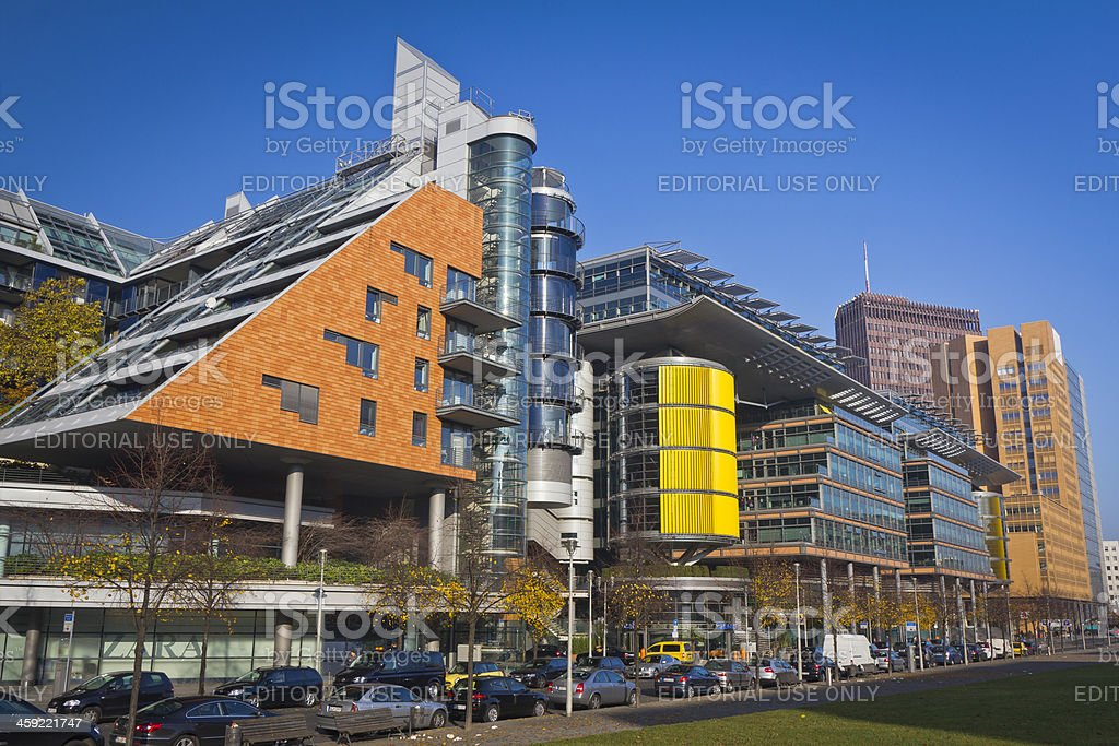 Modern Architecture, Berlin, Germany royalty-free stock photo