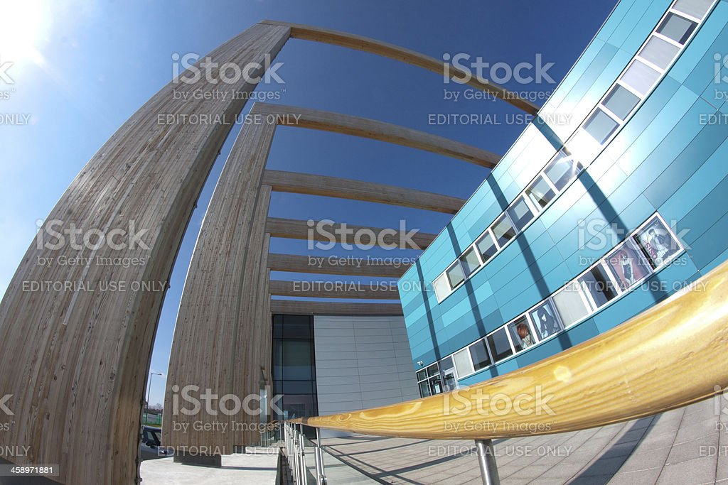 Modern Architecture - College Building royalty-free stock photo