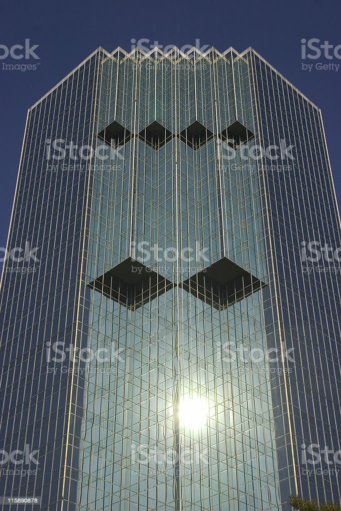 Modern Architecture cubic royalty-free stock photo