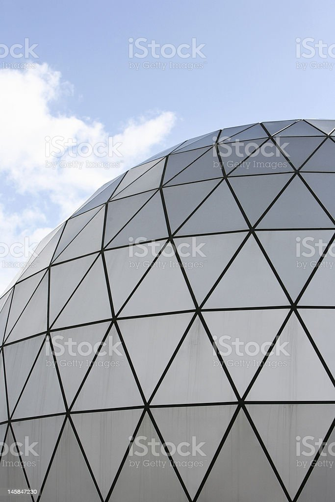 Modern architecture dome royalty-free stock photo