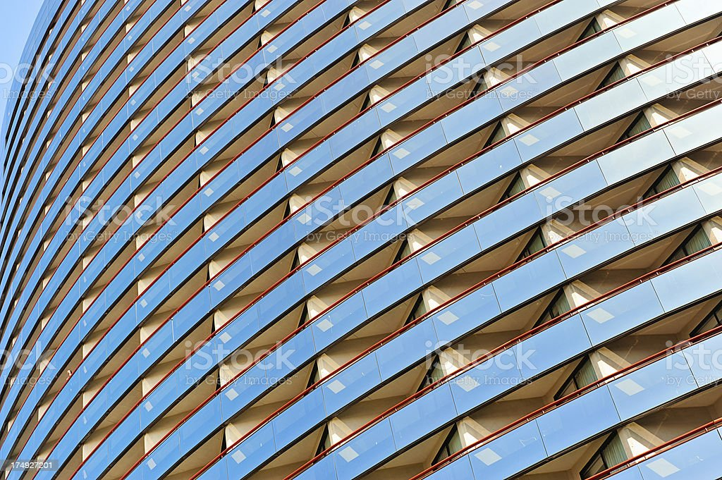 Modern Architecture Facade Detail stock photo