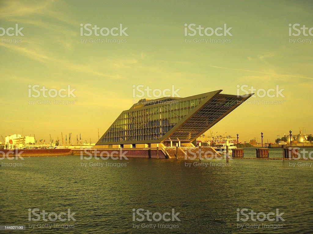 modern architecture, hamburg stock photo